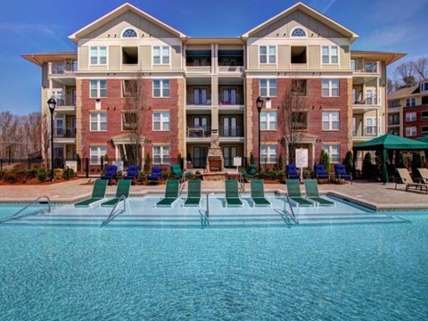 Resort Pool w-Aqua Lounge at Alexander Village, North Carolina