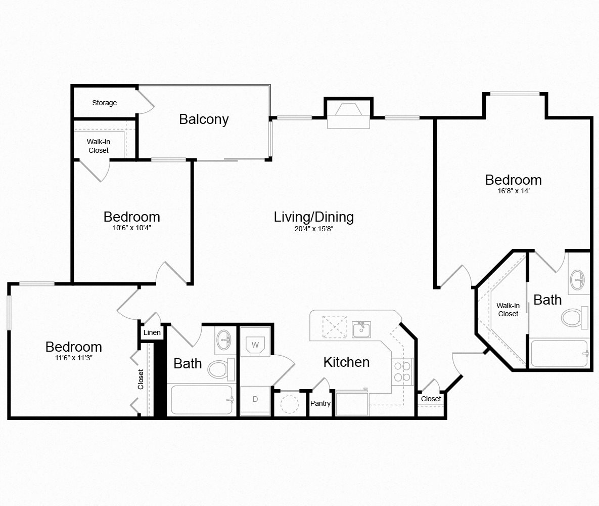 Floor plan at Arborview at Riverside and Liriope, Belcamp, MD 21017