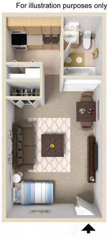 The Kenley Floor Plan 1