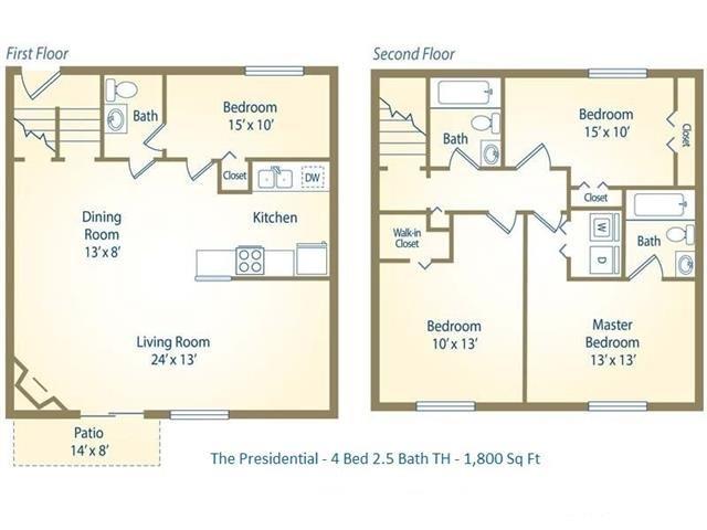 4TH Presidential Floor Plan 6