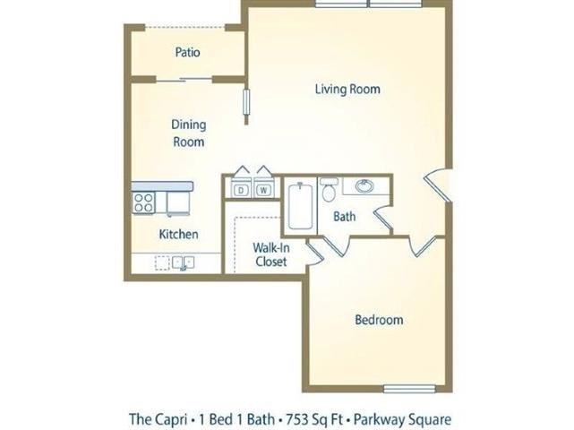 The Capri Floor Plan 4