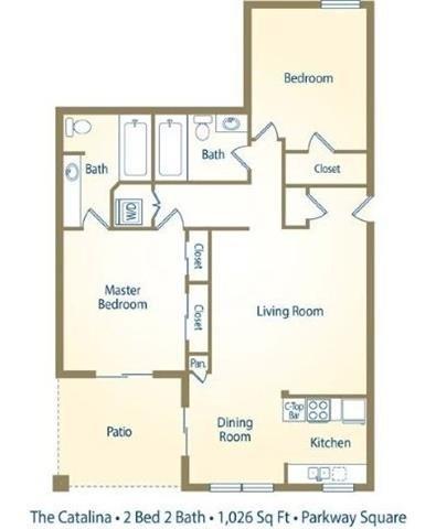 The Catalina Floor Plan 5