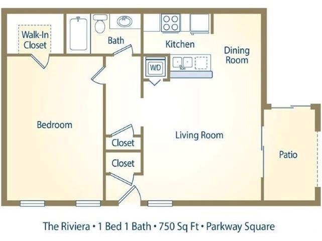 The Riviera Floor Plan 3