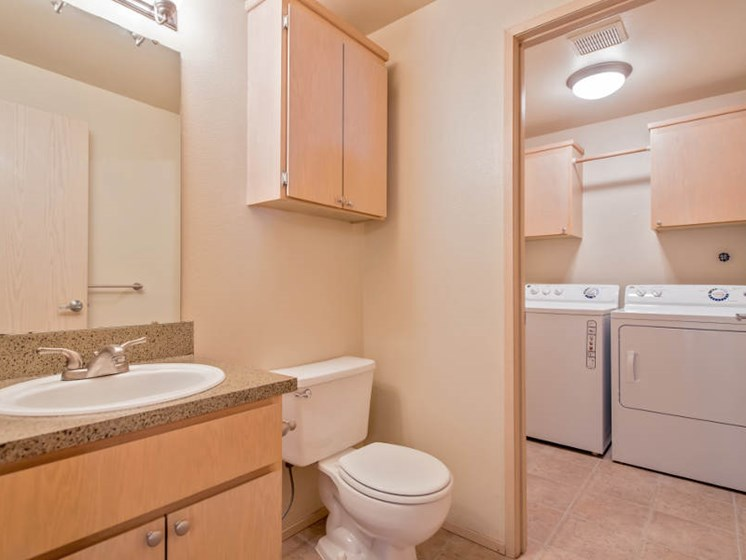 Full-Sized Washer, Gas Dryer Included (Trillium Floorplan)
