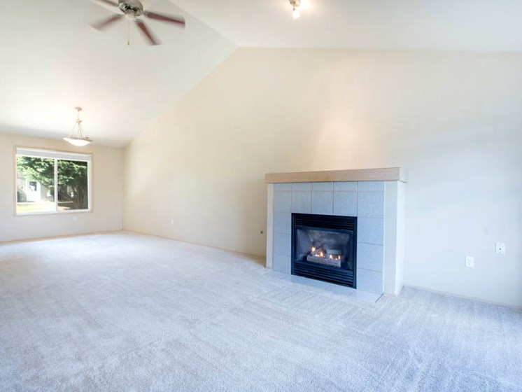 Ceiling Fans and Gas Fireplaces