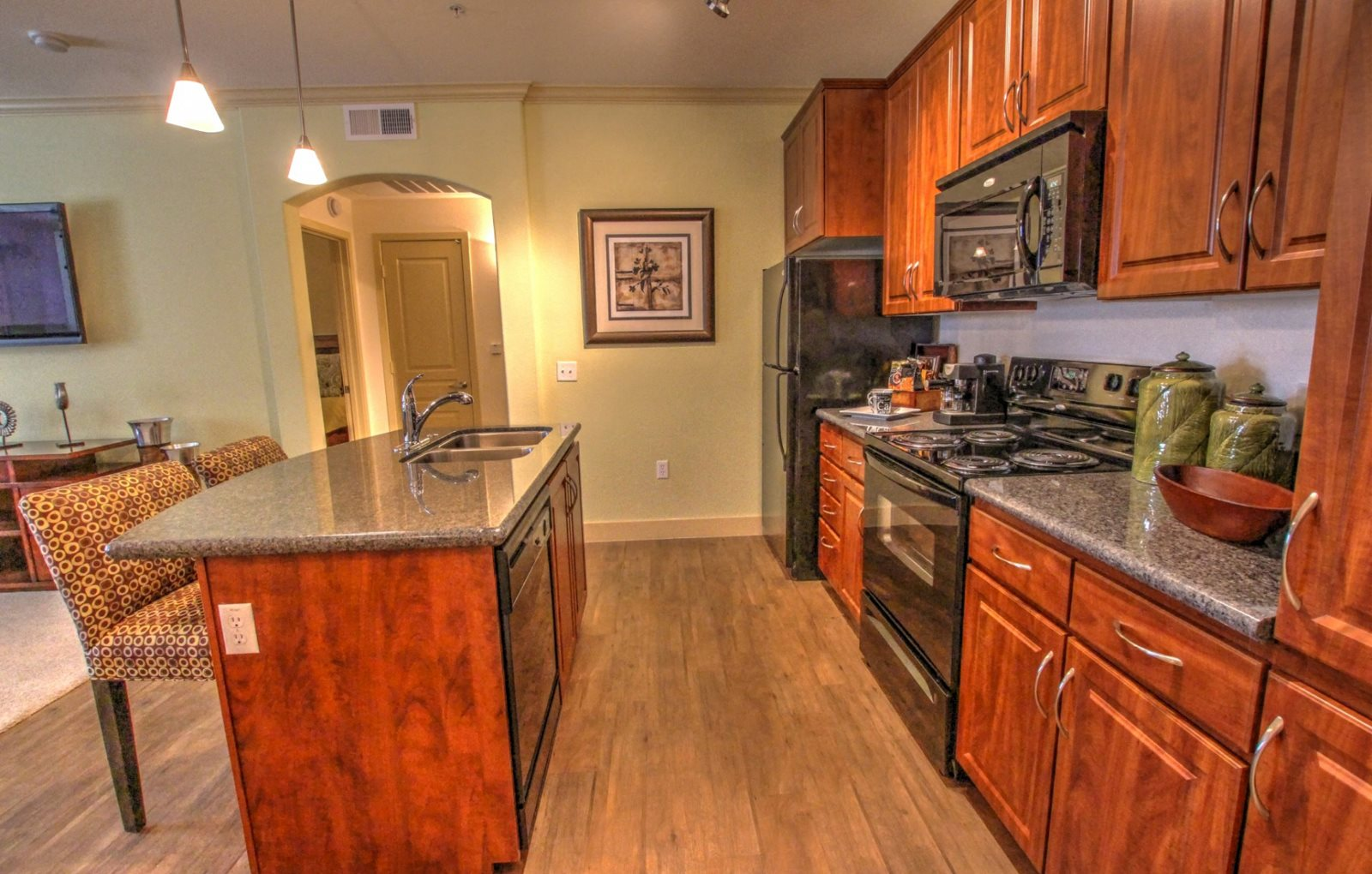 Kitchen at Trails at San Tan Apartments in Gilbert, AZ
