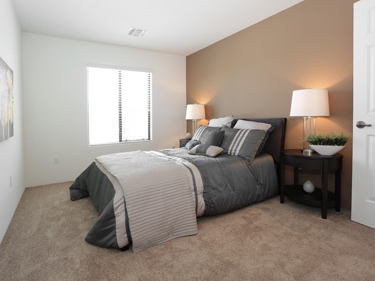 Bedroom at Galeria Del Rio Townhomes in Tucson, AZ