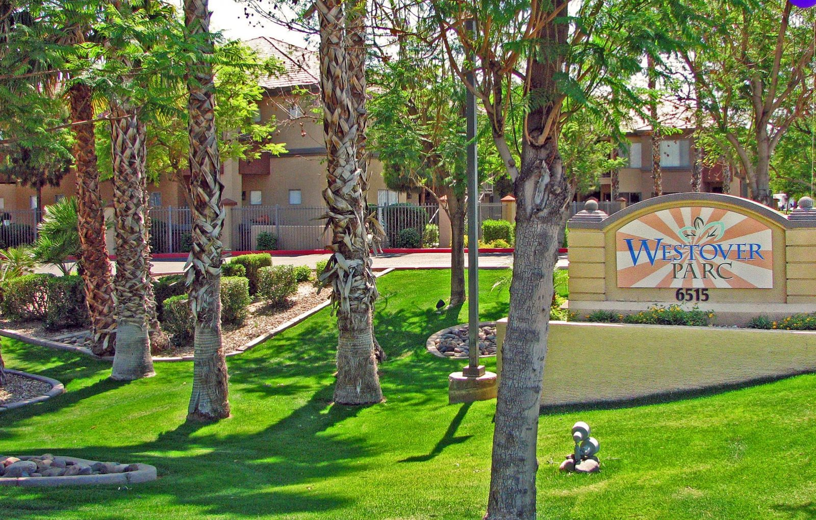 Landscaping & Signage at Westover Parc apartments in Phoenix, AZ