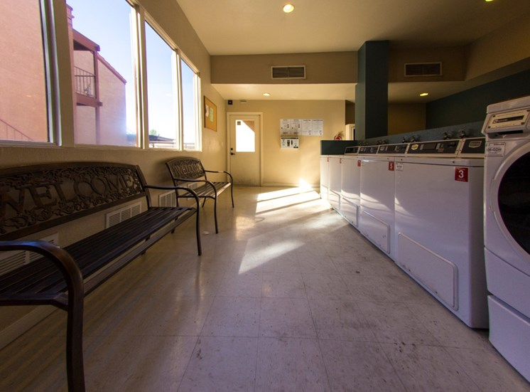 Community Laundry Facility at Canyon Heights Apartments in Tucson, AZ