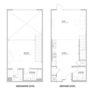 L2 Loft - 1 Bedroom, 1.5 Bath