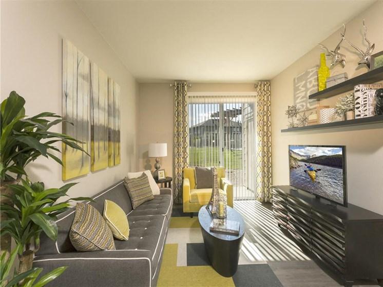 interior model unit living room