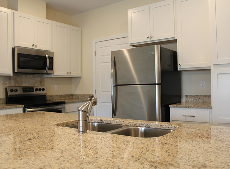 Granite Counter Top in Kitchen