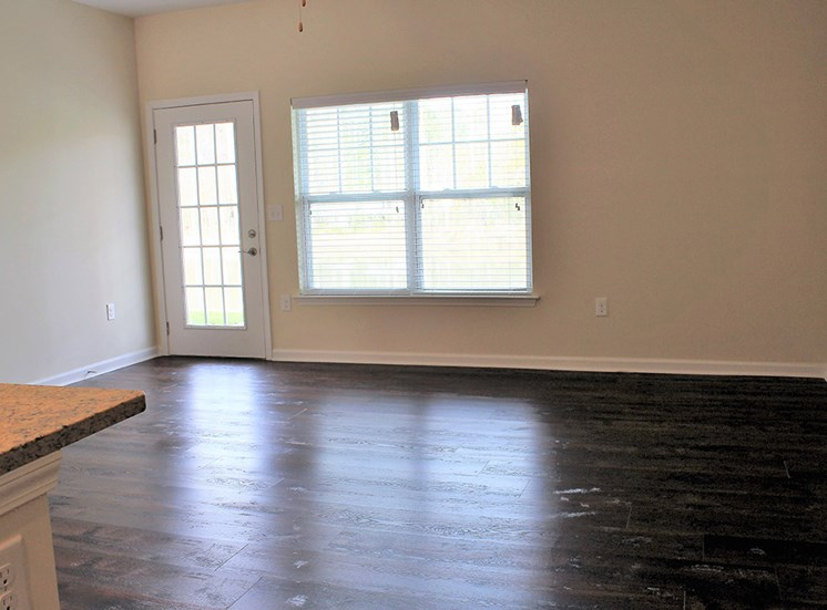 Plank Style Floors  in Living Areas