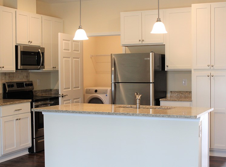 Kitchen at River Oaks Village Apartments  in Little River SC