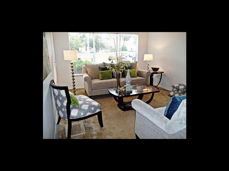 Living room _The Crossings at Cape Coral Cape Coral, FL