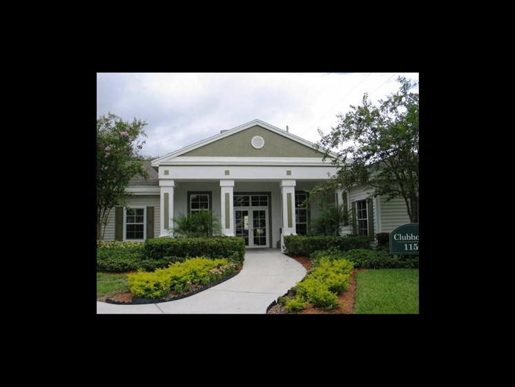 Leasing office exterior_The Crossings at Cape Coral Cape Coral, FL