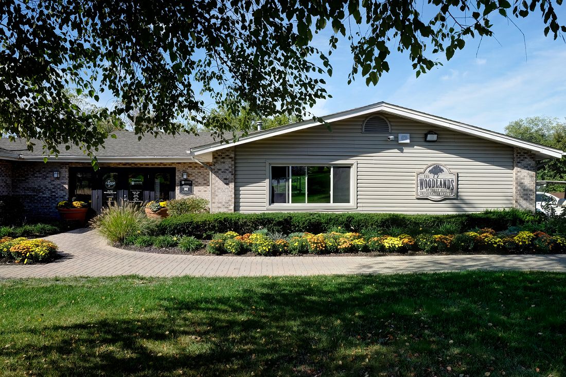 Community Clubhouse at Woodlands of Crest Hill-New, Illinois
