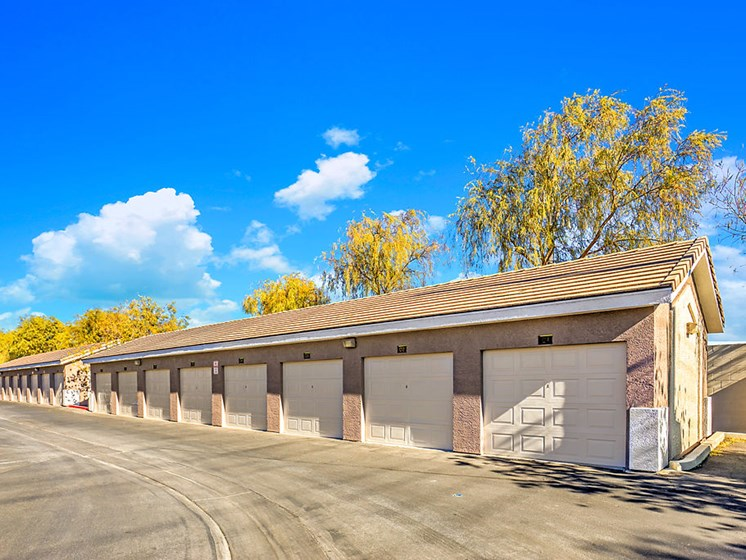 Garage, Select Units