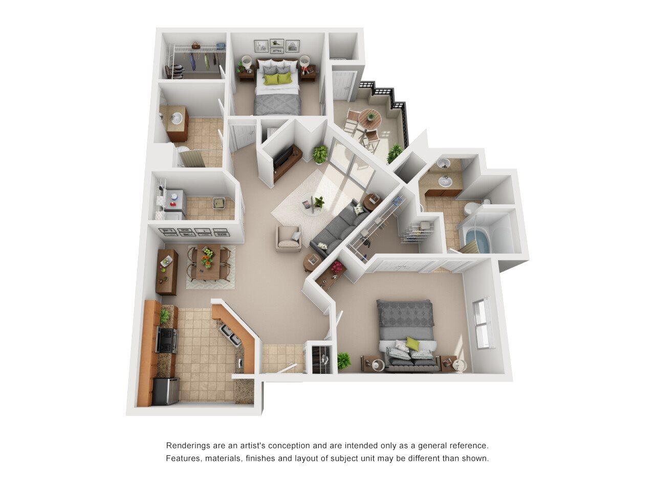Summerlin Floor Plan 4