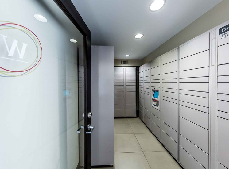 Secure onsite Amazon Lockers for safe package delivery