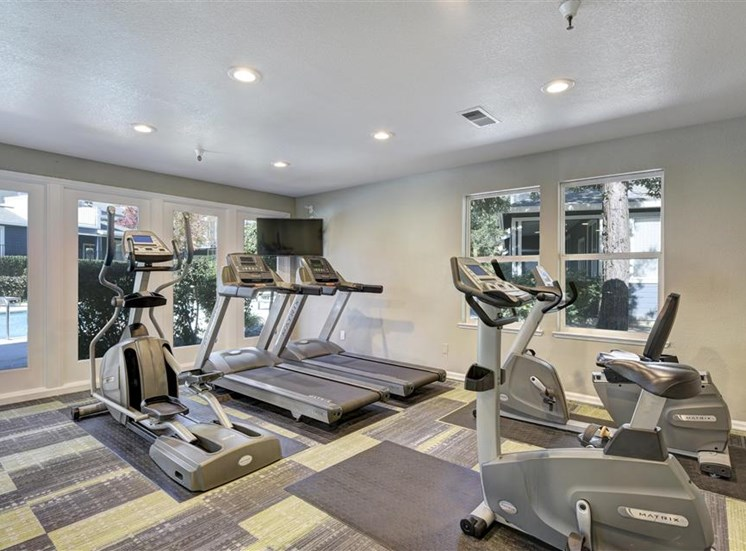 Cardio equipment at Atwood Apartments in Citrus Heights CA