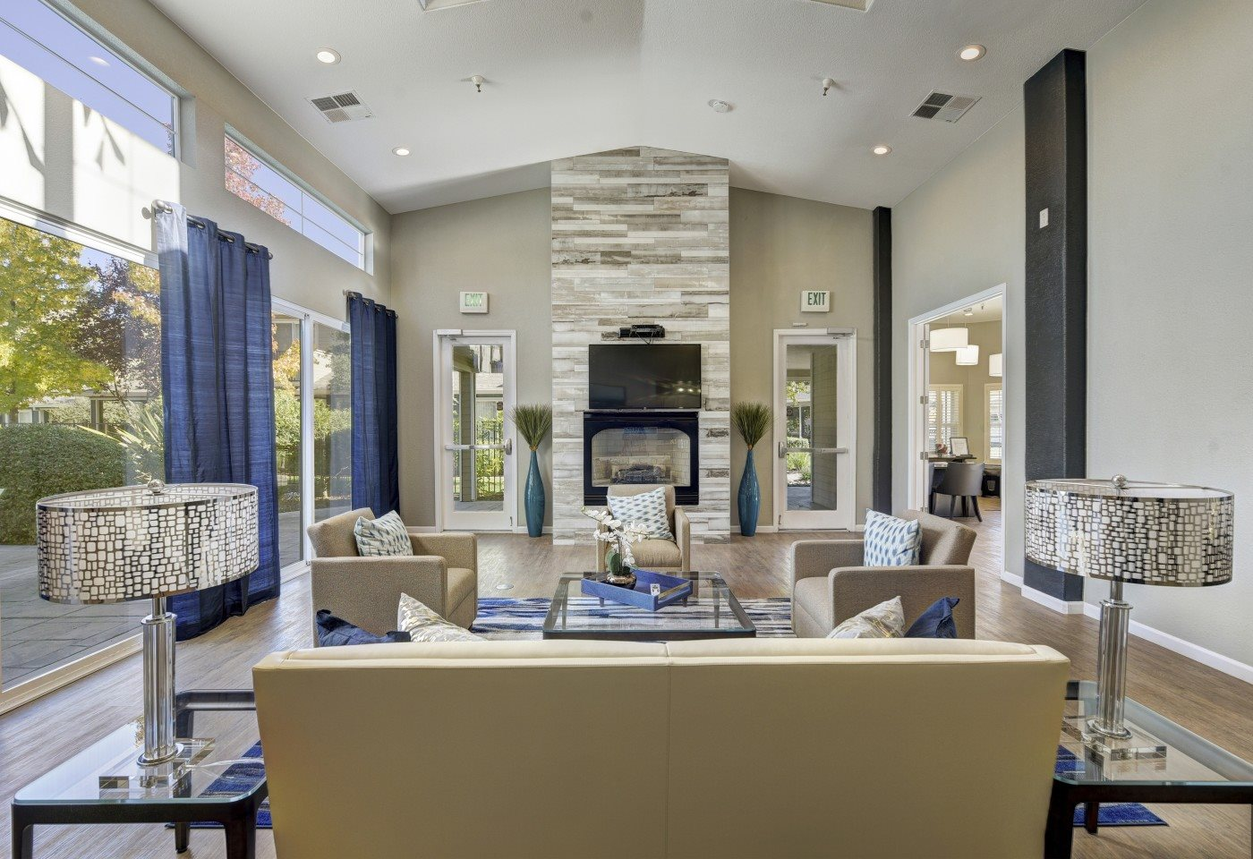This is a premier living room you could have