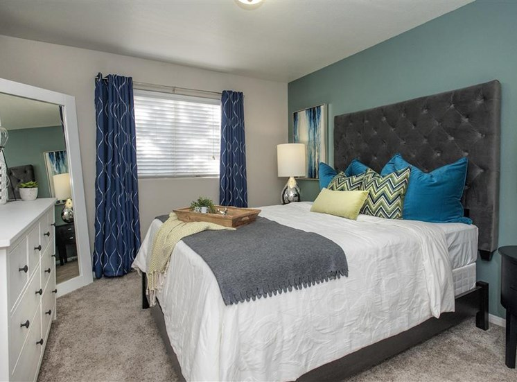 Master suite at Bella Vista Apartments in Elk Grove CA