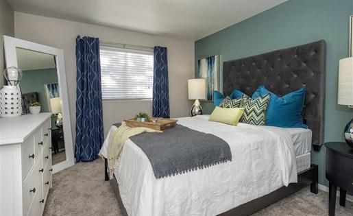 Master suite at Bella Vista Apartments in Elk Grove CA