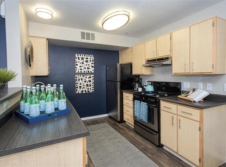 Kitchen at Bella Vista Apartments in Elk Grove CA