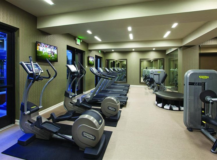 Cardio Equipment at Cerano Apartments in Milpitas CA