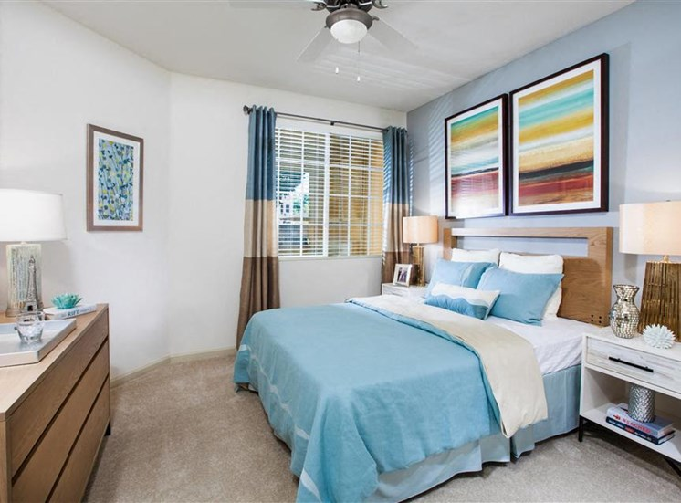 Master suites at Cerano Apartments in Milpitas CA
