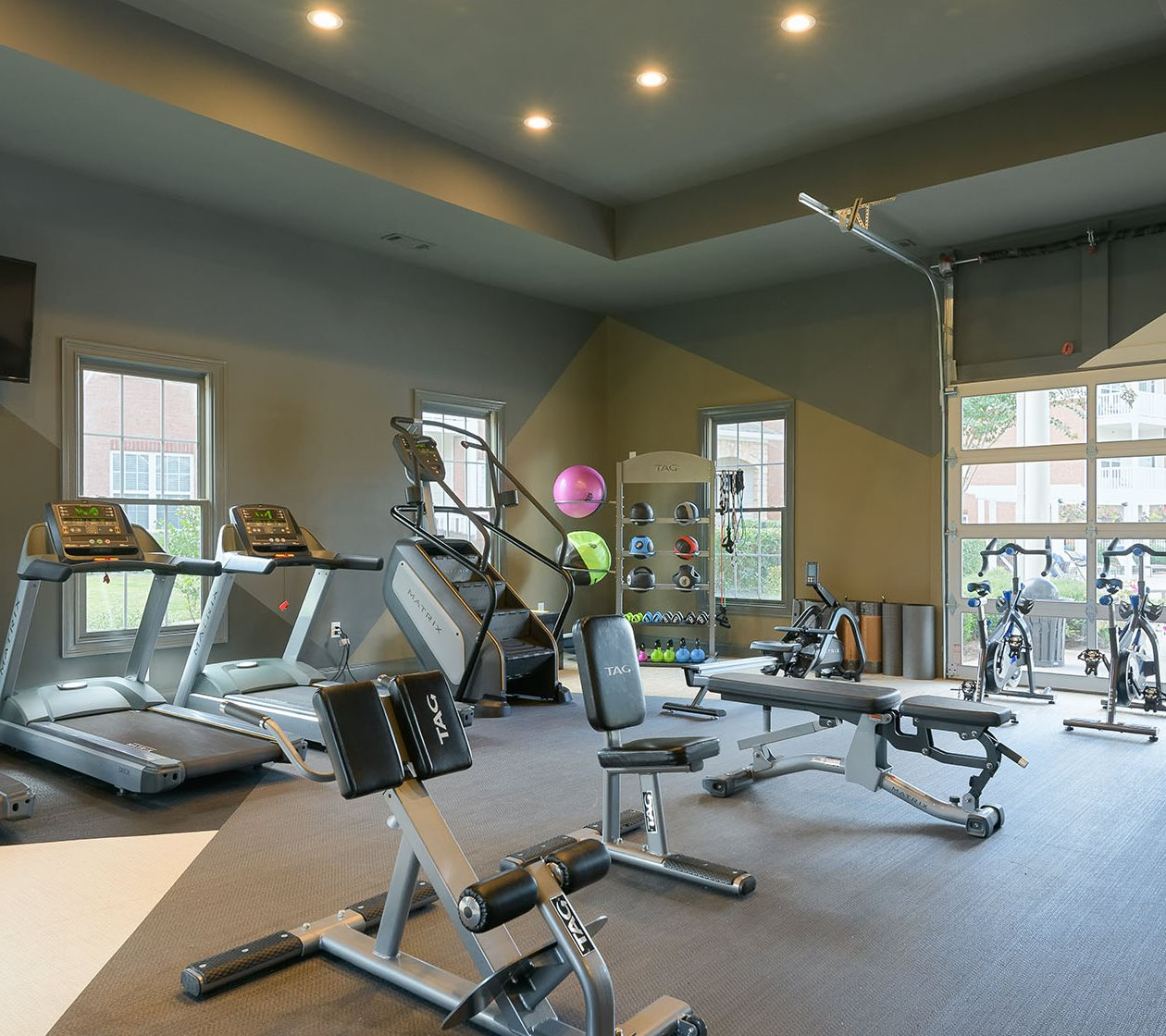 fitness center at colton creek apartments