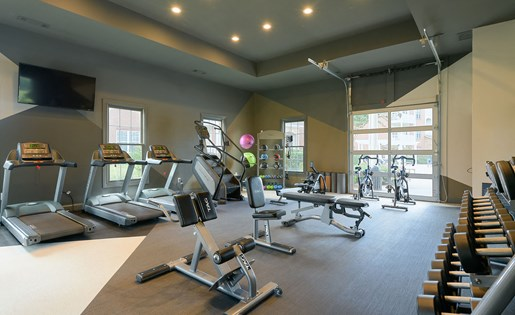 Brand new fitness center at Colton Creek Apartments in McDonough GA
