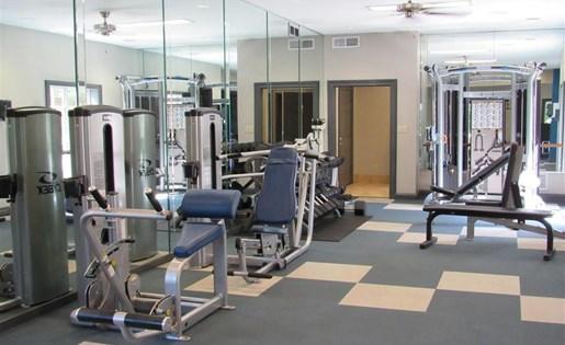 Fitness Center at The Prato at Midtown Apartments in Atlanta, GA