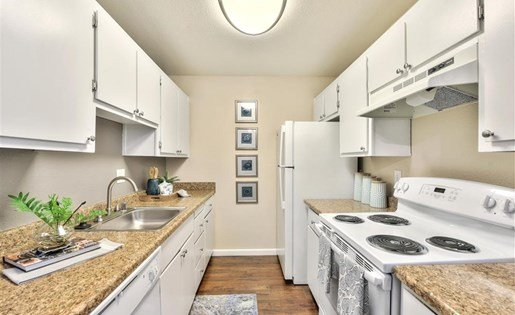 Kitchen at Sora Apartments in Union City CA