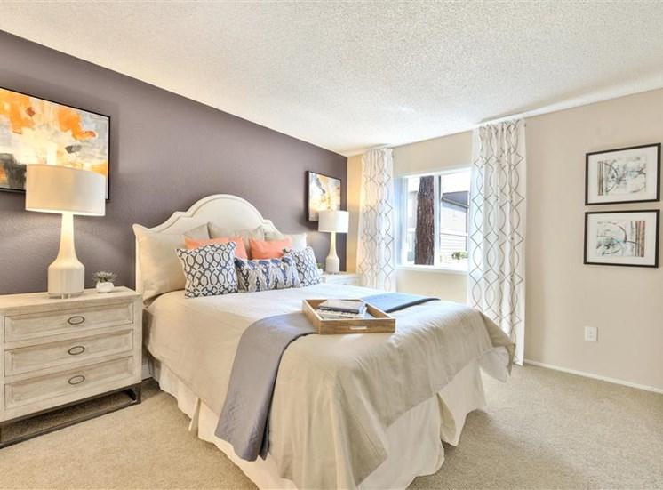 Master suite at Sora Apartments in Union City CA
