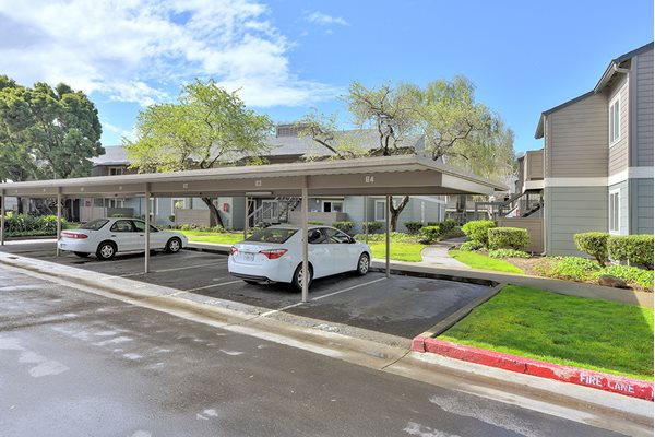 Carports at Sora Apartments in Union City CA
