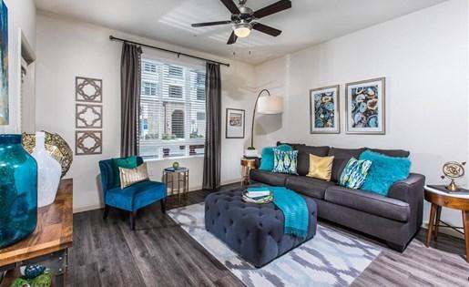 Living room in San Jose CA