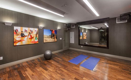 The Verdant Apartments Flex and Yoga Studio in San Jose, CA