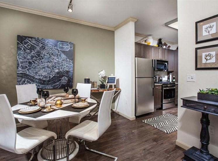 The Verdant Apartments Dining Room in San Jose, CA