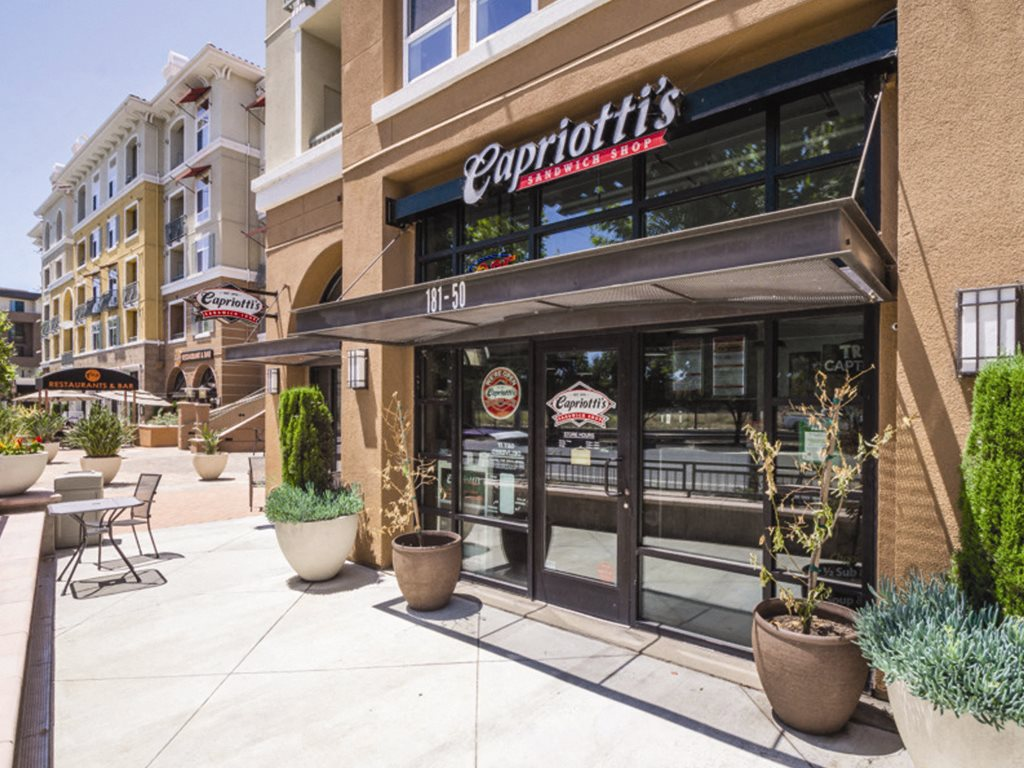 Capriottis restaurant at Verdant Apartments in San Jose CA