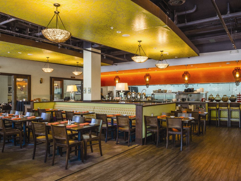 Faz Restaurant and bar at Verdant Apartments in San Jose CA