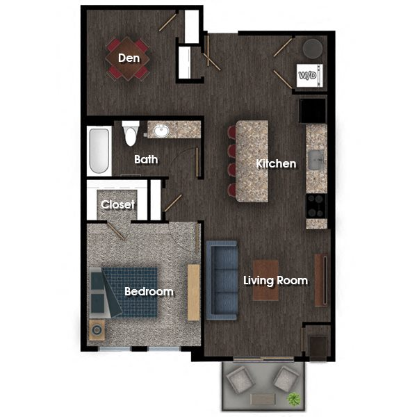 Franklin F floor plan