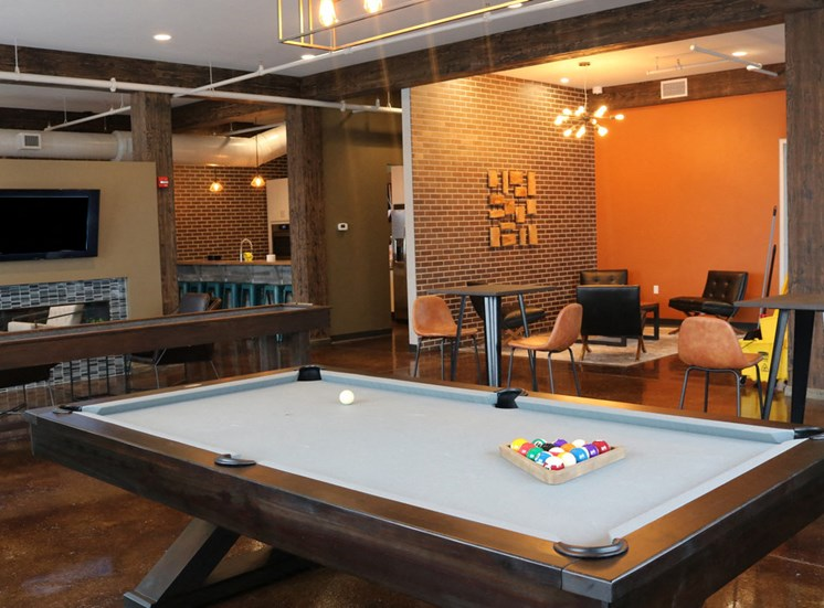 Resident Lounge - Game Area