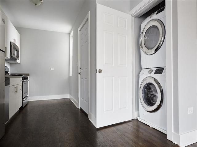 Full-Size Stackable Washer and Dryer