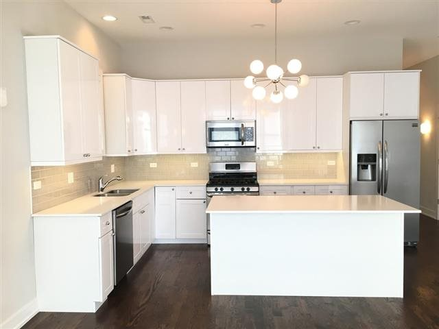 Bright White Kitchens