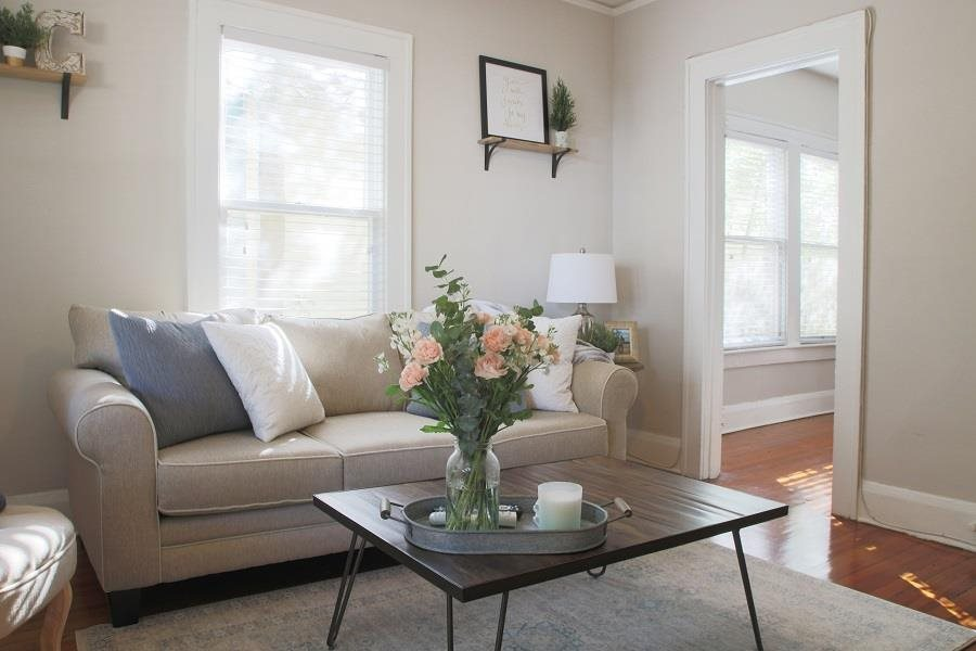 Bright Open Living Areas