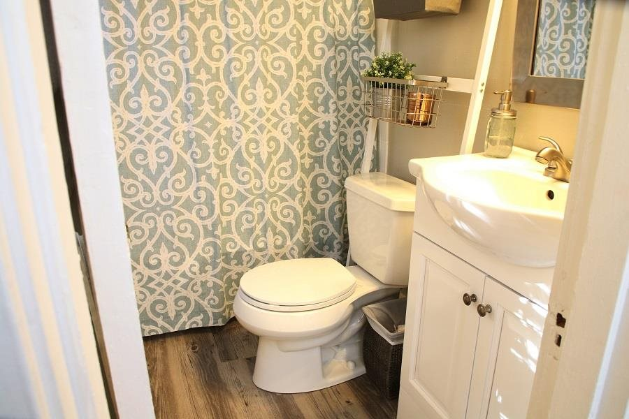 Bright White Bathrooms