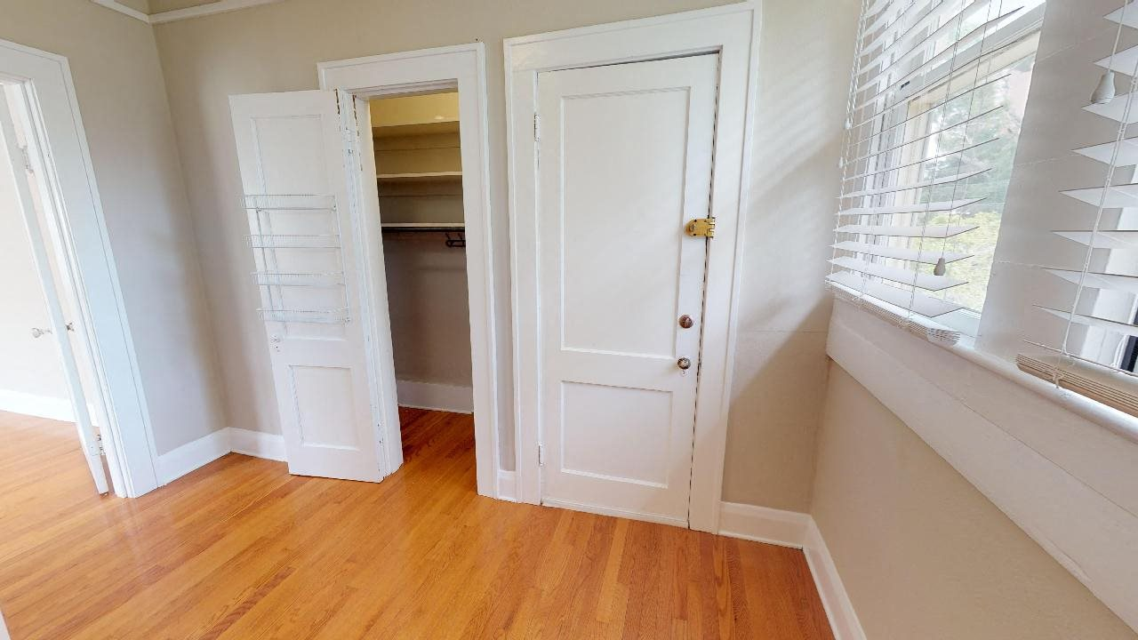 Spacious laundry room with tons of extra storage