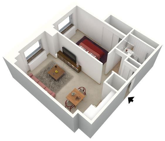 1 BEDROOM - MEDIUM